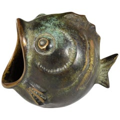 20th Century Vintage Fish Ashtray by Walter Bosse, 1950s