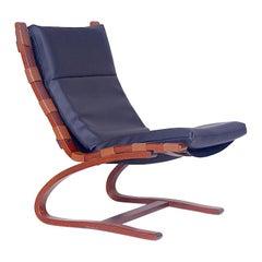 Vintage Lounge-Sessel von Elsa Solheim, 1970er Jahre