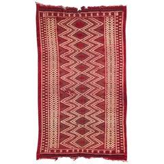 Vintage Moroccan Tribal Kilim