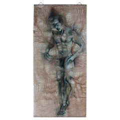 'Self Actualisation' One off Wall Tapestry, Handmade by Lawrence Kwakye