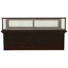 General Store Glass Display Case