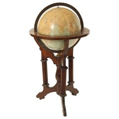 Rand McNally Library Globe on Stand