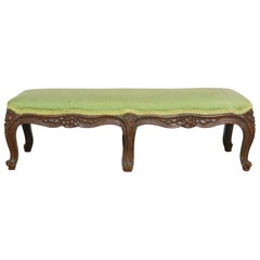 French Provincial Carved Footstool