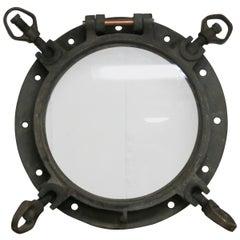Vintage Iron and Brass Ship's Porthole
