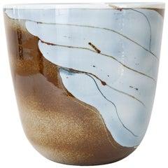 Large Studio Scandinavian Modern Inger Persson Vase or Bowl Rorstrand