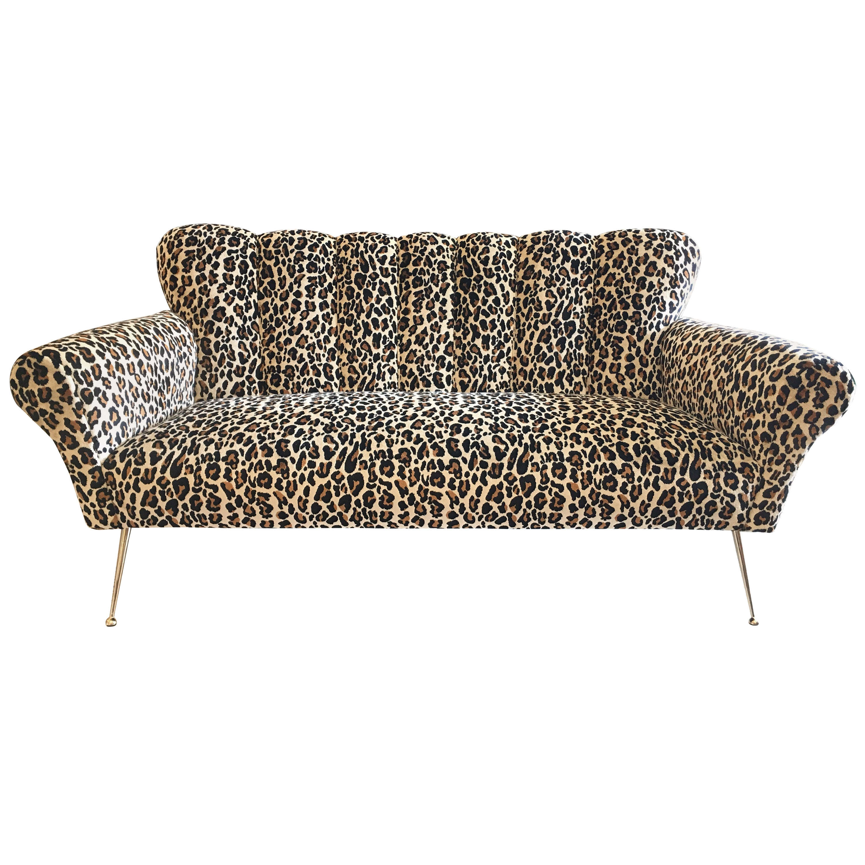Midcentury Italian Sofa Original from the 1950s