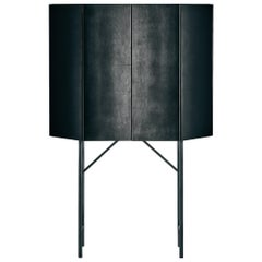 Misty Venice Numbered Edition Bar Cabinet in Glass by Gallotti & Radice