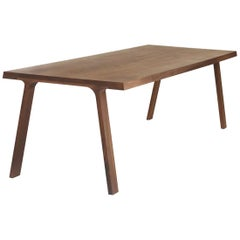 Solid Walnut Dining Doble Table