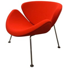 Artifort Orange Slice Armchair by Pierre Paulin