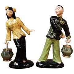 Hedi Schoop Figurines 1950s a Pair