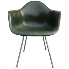 Herman Miller Eames DAX Armchair in Green