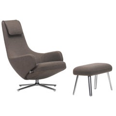 Vitra Standard Repos and Panchina in Nutmeg Cosy by Antonio Citterio