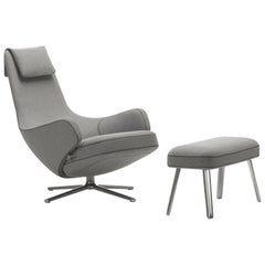 Vitra Standard Repos and Panchina in Pebble Grey Cosy by Antonio Citterio