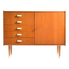 Midcentury Sideboard with Drawers, Czechoslovakia, 1960s