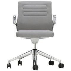 Vitra AC 5 Studio Chair in Light Gray and Sierra Gray Plano by Antonio Citterio