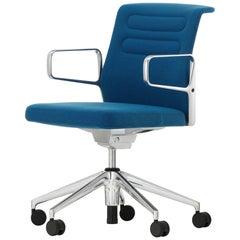 Vitra AC 5 Studio Chair in Blue and Coconut Plano by Antonio Citterio
