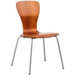 Teak 'Nikke' Dining Chair by Tapio Wirkkala for Asko, 1950s