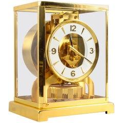 Vintage Atmos Jaeger LeCoultre Mantle Clock, 20th Century