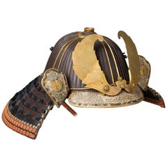 Early 62-Plates Samurai Helmet 'Kabuto' from the Nabeshima Clan by Nobutaka