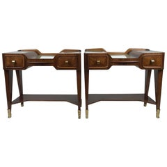 Pair of Bedside Cabinets by Vittorio Dassi