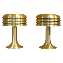 Pair of Hans-Agne Jakobsson Table Lamps BN-26, 1960s