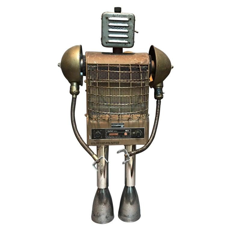 Markel Robot Sculpture by Bennett Robot Works For Sale