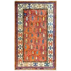 Incredible 19th Century Ganjeh Rug