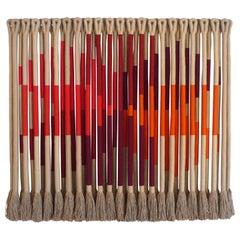 'Swiss Cross' by Fiber Artist Jane Knight, 1928-2013