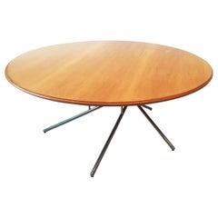 Coffee Table, Spiral Tubular Base