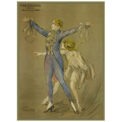Advert for Max Eschig, after Belle Époque Vintage Poster by Louis Icart