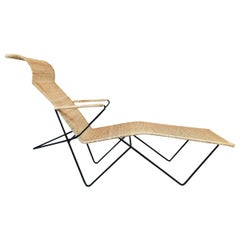 Mexican Iron Chaise Longue