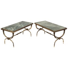 Pair of Raymond Subes Style Coffee Table
