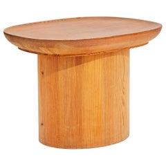 Axel Einar Hjorth Pine 'Uto' Table for Nordiska Kompaniet, Sweden 1930s