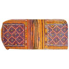 Early 20th Century Kilim Saddle Bag