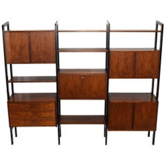 Rosewood Bookcase Storage Unit