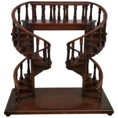English Regency Style Architectural Staircase Model