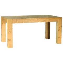 Italian Modern Designer Durmast Extendable 12-Seat Table