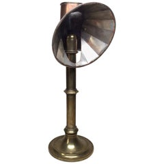 Brass and Copper Students Candle Stand by F.Lassetter & Co.