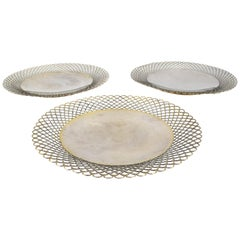 Vintage Silver Plates, 19th Century