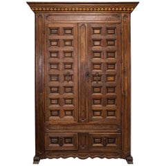18th Century Spanish Cupboard or Armoire