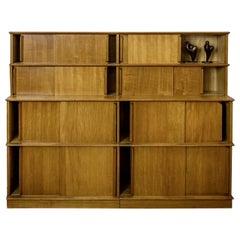 Very Rare and Special Modular Shelf, 1940s