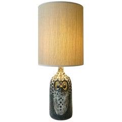 Zoomorphic Ceramic Lamp by Raphael Giarrusso, circa 1960-1970