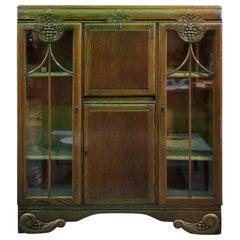 Art Deco Bookcase Desk