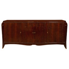 French Art Deco Rio Palissandre Sideboard, circa 1930s