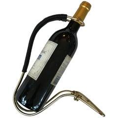 Jacques Adnet Barware Wine Holder Server Pourer,  France, 1950