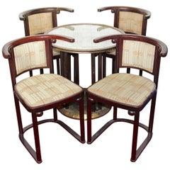 """Josef Hoffmann """"Fledermaus"""" Bat Seating Group, Suite, Thonet, Art Nouveau, Deco"""
