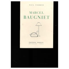 """MARCEL BAUGNIET - 2 Exhibition Catalogues"