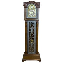 20th Century Tempus Fugit Grandfather Clock with a Chime