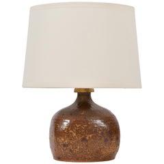 A 1950s Stoneware Lamp