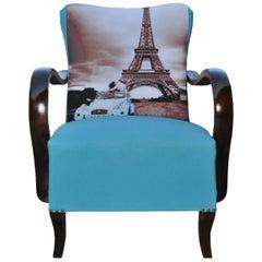 Art Deco Paris Armchair, circa 1920s
